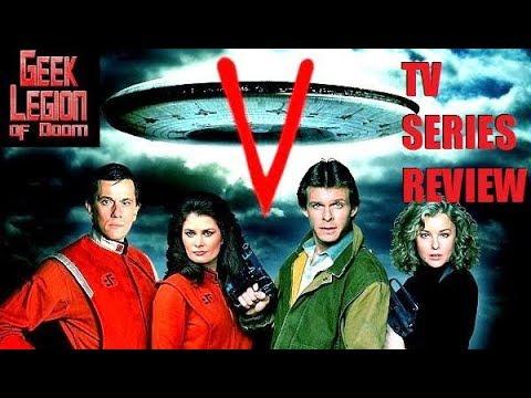 V MINI-SERIES ( 1983 Jane Badler ) Sci-Fi TV Season Review Episodes 1 & 2