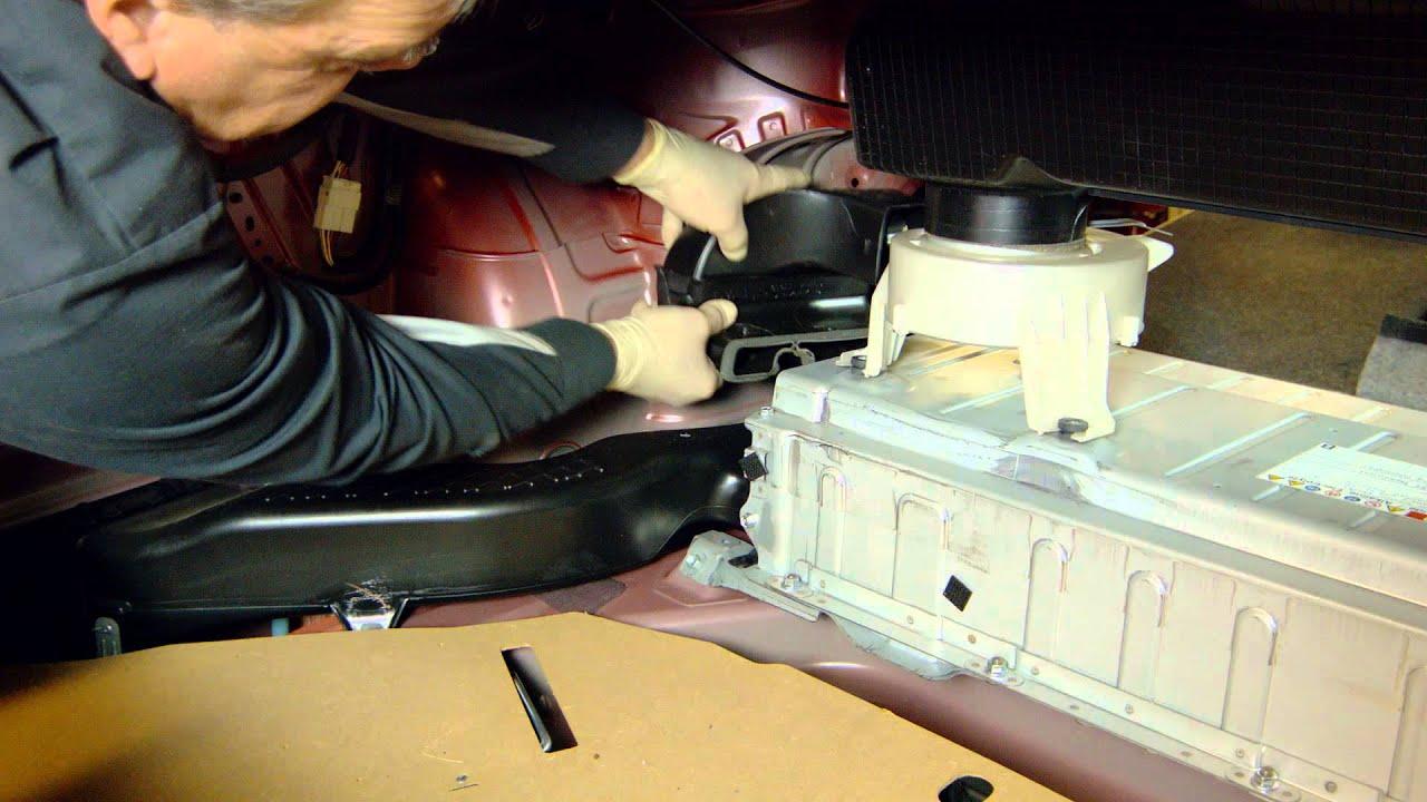medium resolution of toyota camry hybrid battery installation