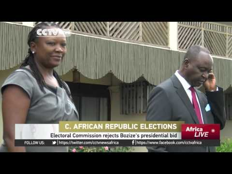 C.A.R :  Electoral Commission rejects Bozize's presidential bid