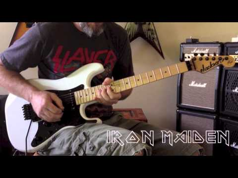 Iron Maiden - Aces High Guitar Cover