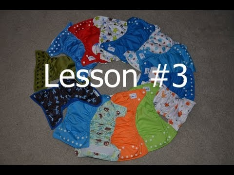 Cost Comparisons of Cloth Diapers - Cloth Diapering 101- Lesson 3
