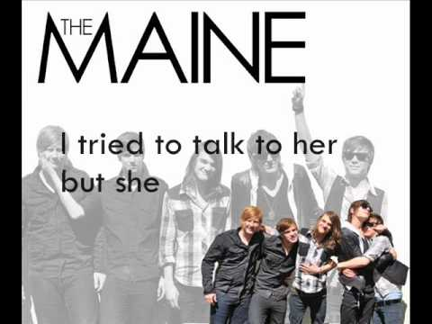 The Maine - Into Your Arms {HQ} lyrics
