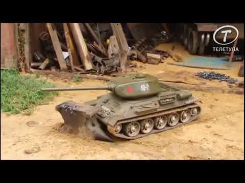 Самодельный танк для внука