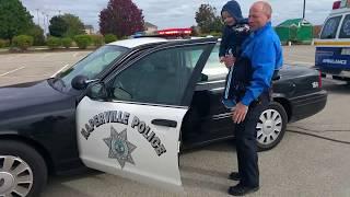 Policeman makes his day