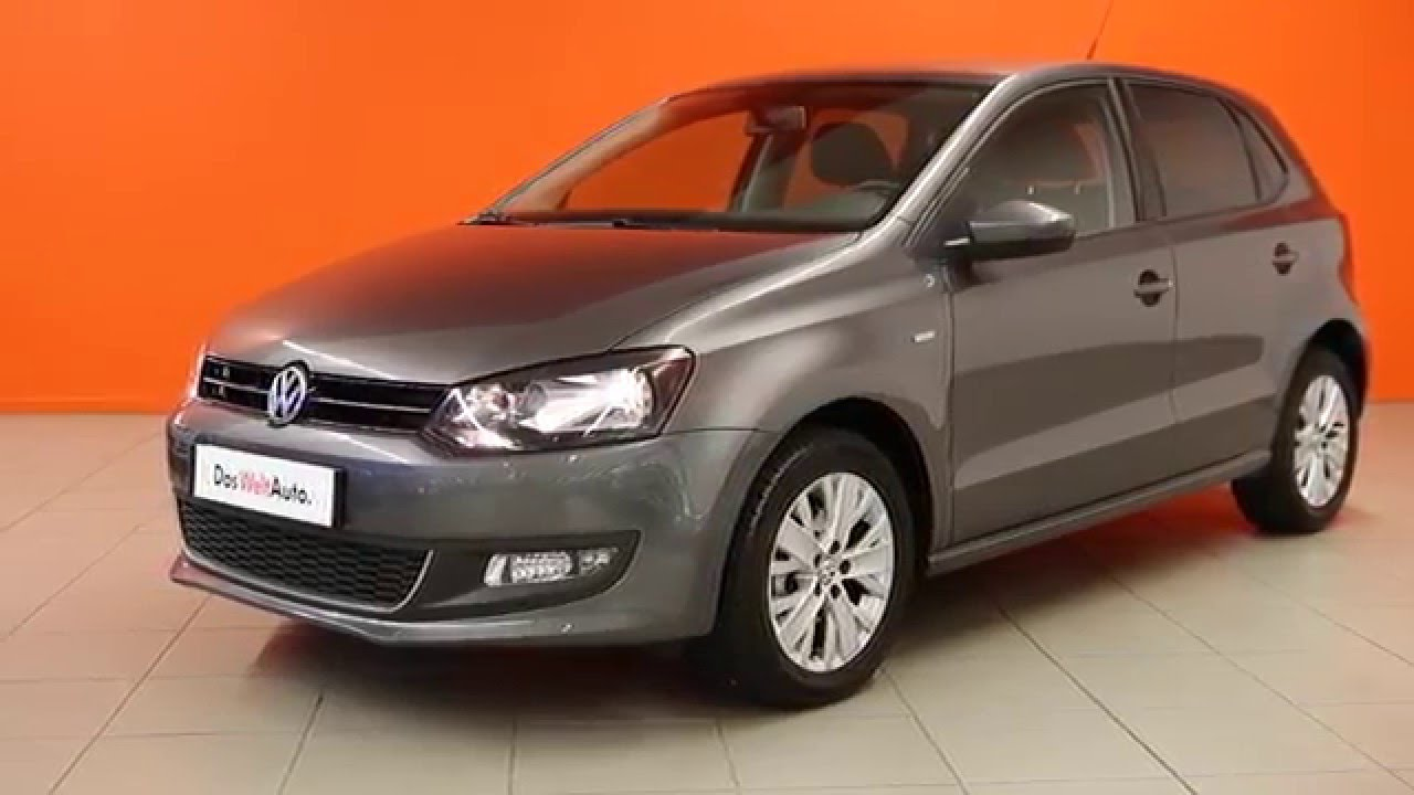 volkswagen polo occasion polo 1 2 60 life gris poivre 2733 youtube. Black Bedroom Furniture Sets. Home Design Ideas