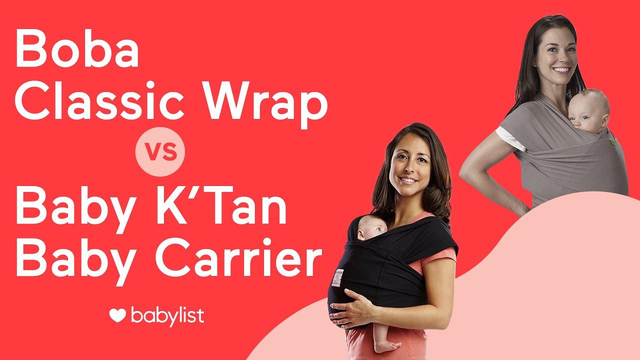 Boba Vs Baby K Tan Wrap Comparison Youtube