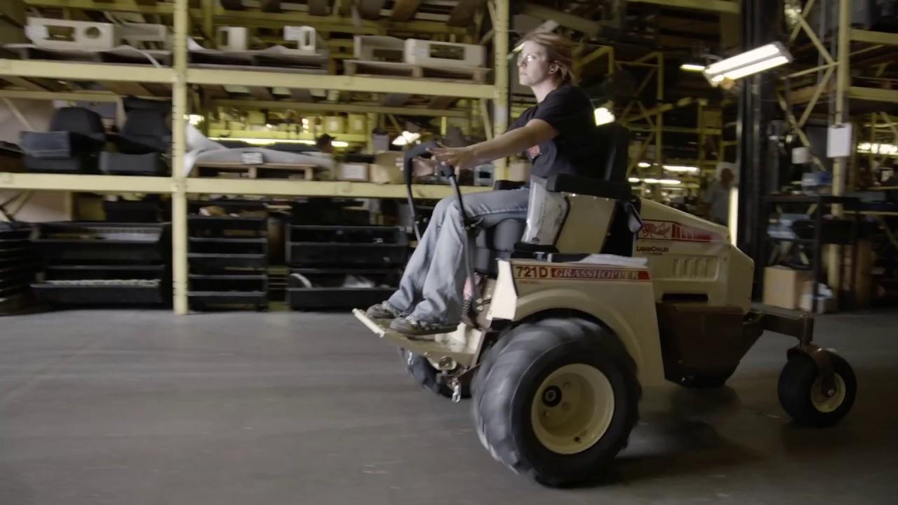 Grasshopper Zero Turn Mowers | Purposeful Manufacturing (LONG)