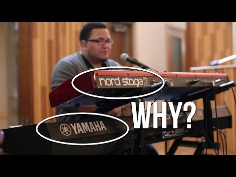 Why I Use a Nord Stage 2 and a Yamaha Motif XF8 | Worship Band Workshop