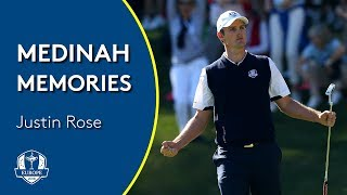 Justin Rose on the Miracle in Medinah | Medinah Memories