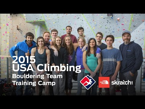 2015 USA Climbing Bouldering Team Training Camp