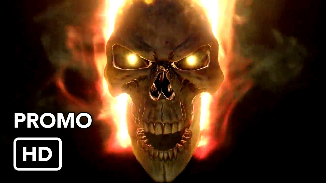 Sugar Skull Wallpaper Hd Marvel S Agents Of Shield Season 4 Quot Ghost Rider Quot Teaser