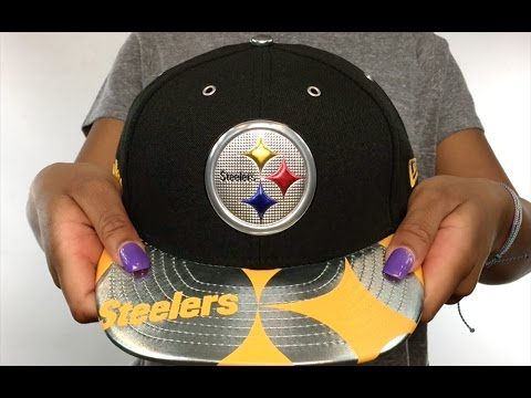 Steelers  2017 LOW-CROWN SPOTLIGHT  Fitted Hat by New Era - YouTube 7c1bc5287