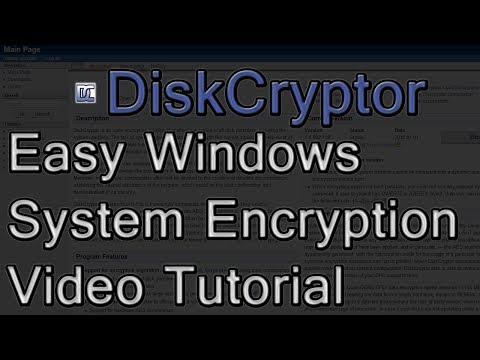 DiskCryptor Easy Windows System Drive Encryption Tutorial ( Truecrypt Alternative )