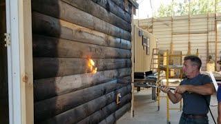 Shou-Sugi-Ban Japanese Wood Burning Technique