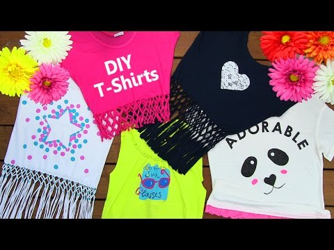 Thumbnail: DIY Clothes! DIY 5 T-Shirt Crafts (T-Shirt Cutting Ideas and Projects with 5 Outfits)