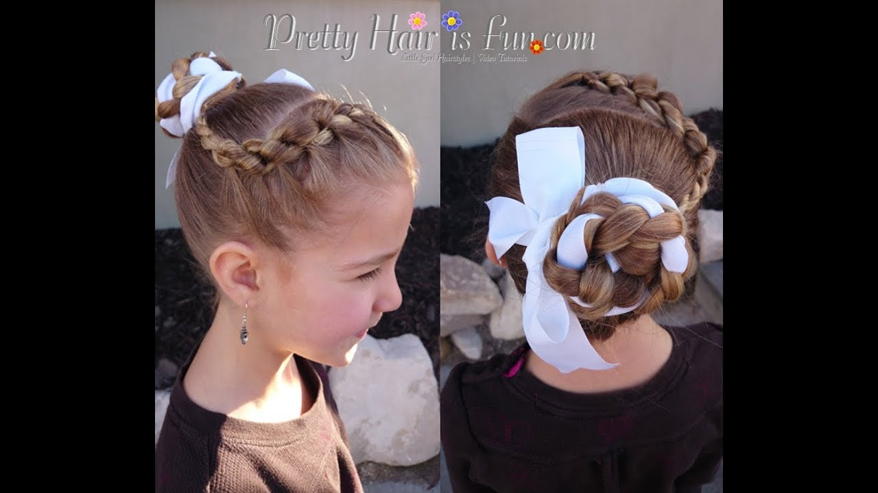 How To Knotted Headband Braid Amp Ballet Bun Pretty Hair