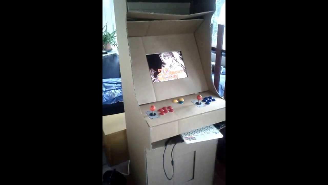 borne arcade carton