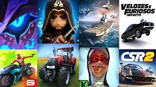 TOP 10 Melhores Jogos Hackeados Pra Android 2019   Jogos dinheiro infinito