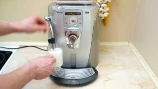 Кофеварка SAECO Talea Ring Plus(Кофеварка SAECO Talea Ring Plus , узнать подробнее о кофеварке: http://kofeprofi.com.ua/kofevarki/saeco/, 2013-04-11T09:25:21.000Z)