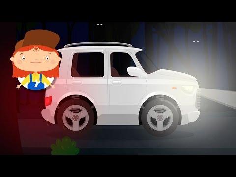 Доктор Машинкова. Развивающие мультики для детей про машинки и автосервис: Ремонт Внедорожника: фары