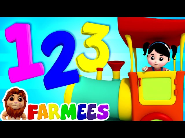 The Numbers Song | Count Numbers 1 to 10 | Nursery Rhymes ...