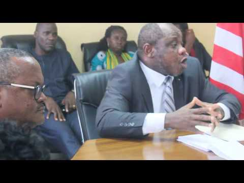 Liberia's Finance Minister, Samuel Tweah Detects Flaws in LISGIS Data