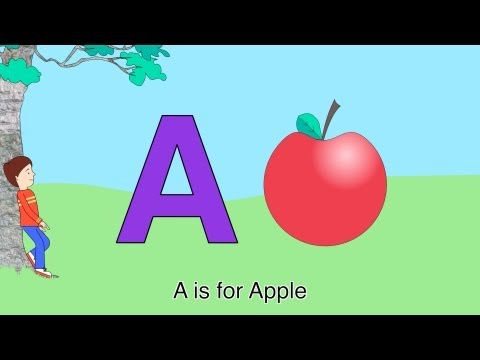 Best ABC Alphabet Song A is for Apple