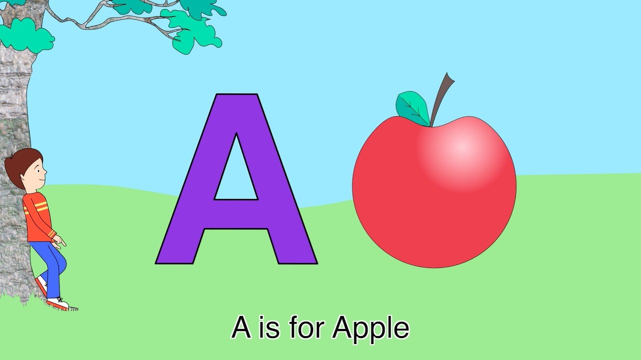 Best ABC Alphabet Song (A is for Apple) - YouTube