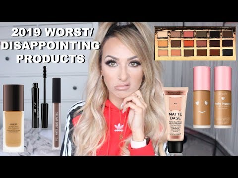 2019 MOST DISAPPOINTING MAKEUP PRODUCTS from YouTube · Duration:  20 minutes 36 seconds