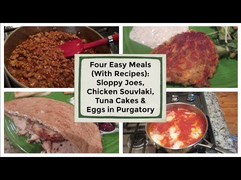 Four Easy Meals (With Recipes) | Cooking For Two
