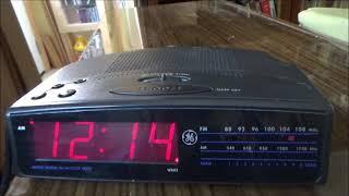 General Electric 7-4815A AM/FM Clock Radio (1999-2000)
