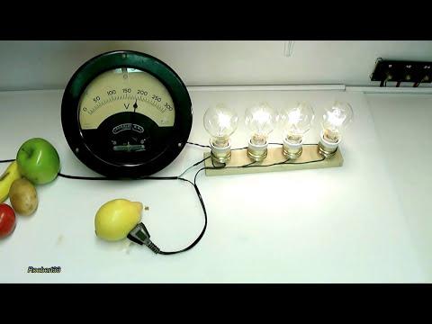Electrical conductivity fruit
