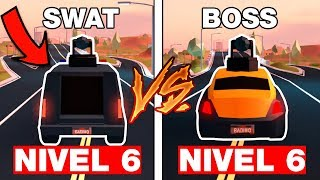COMPARING THE SPEED OF ROLLS ROYCE vs SWAT in Jailbreak! (Roblox) - SIMULATION VEHICULOS