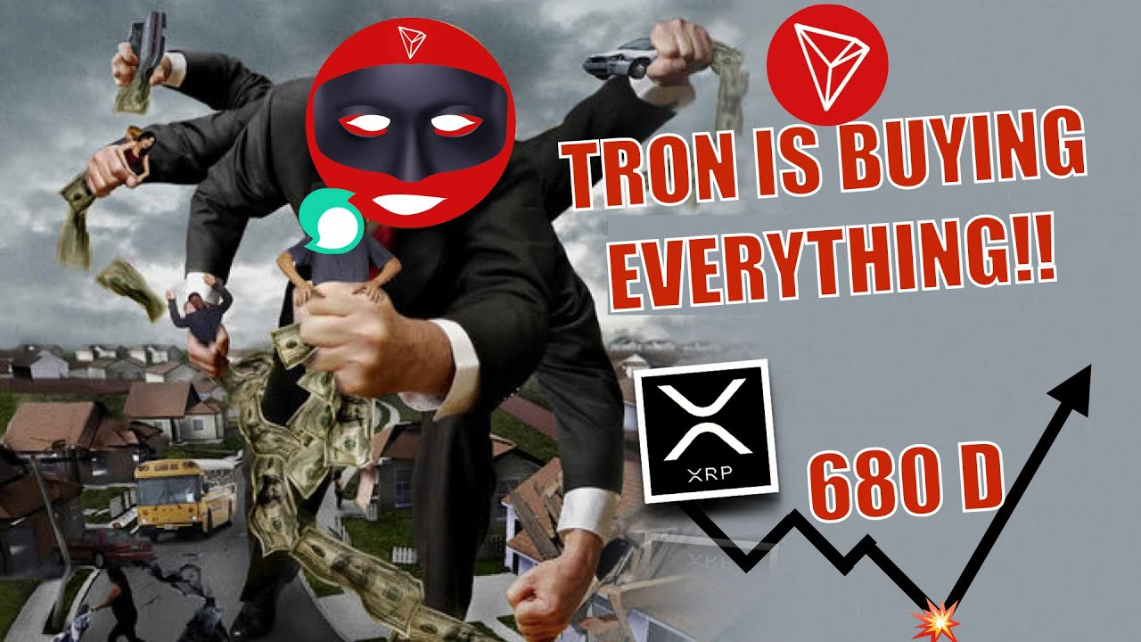 BREAKING: Tron is GRABBING and ACQUIRING EVERYTHING! XRP Hits 680 Day BULLISH EXPLOSION Indicator! 1