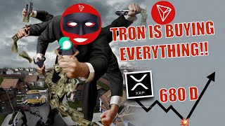 BREAKING: Tron is GRABBING and ACQUIRING EVERYTHING! XRP Hits 680 Day BULLISH EXPLOSION Indicator!