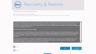 Recovering Windows 8.1 using the Dell USB Key