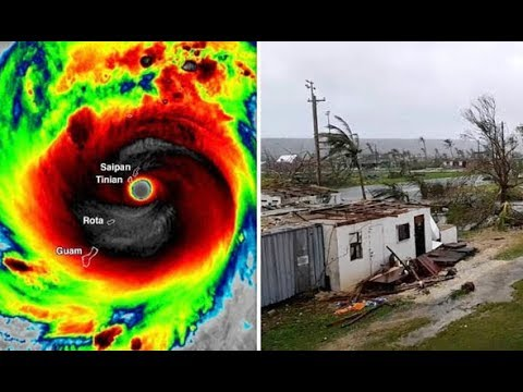 Super Typhoon Yutu  Trump declares major disaster. ☙THIS HAPPENED ON OUR EARTH | 27 october 2018.