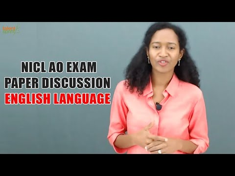 NICL AO Exam Paper Discussion - English Language | TalentSprint