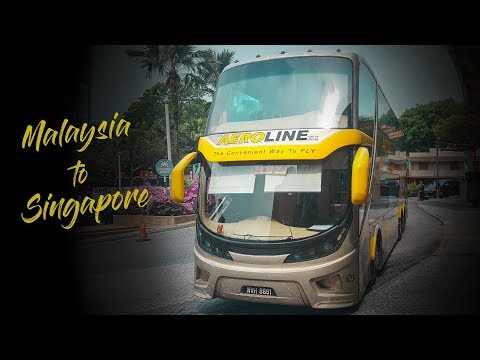 Aeroline Coach (Kuala Lumpur to Singapore) - LIKE IN A PLANE