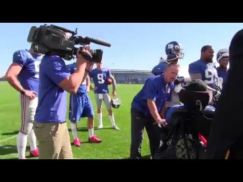 The New York Giants Make-A-Wish for Brandon