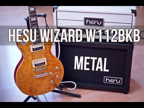 HESU Little Bastard with HESU Wizard W112BKB - Metal
