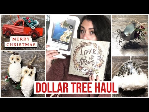 HUGE DOLLAR TREE HAUL | * NEW CHRISTMAS 2018 *