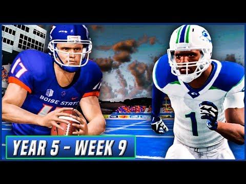 NCAA Football 14 Dynasty Year 5 - Week 9 @ Boise State | Ep.81