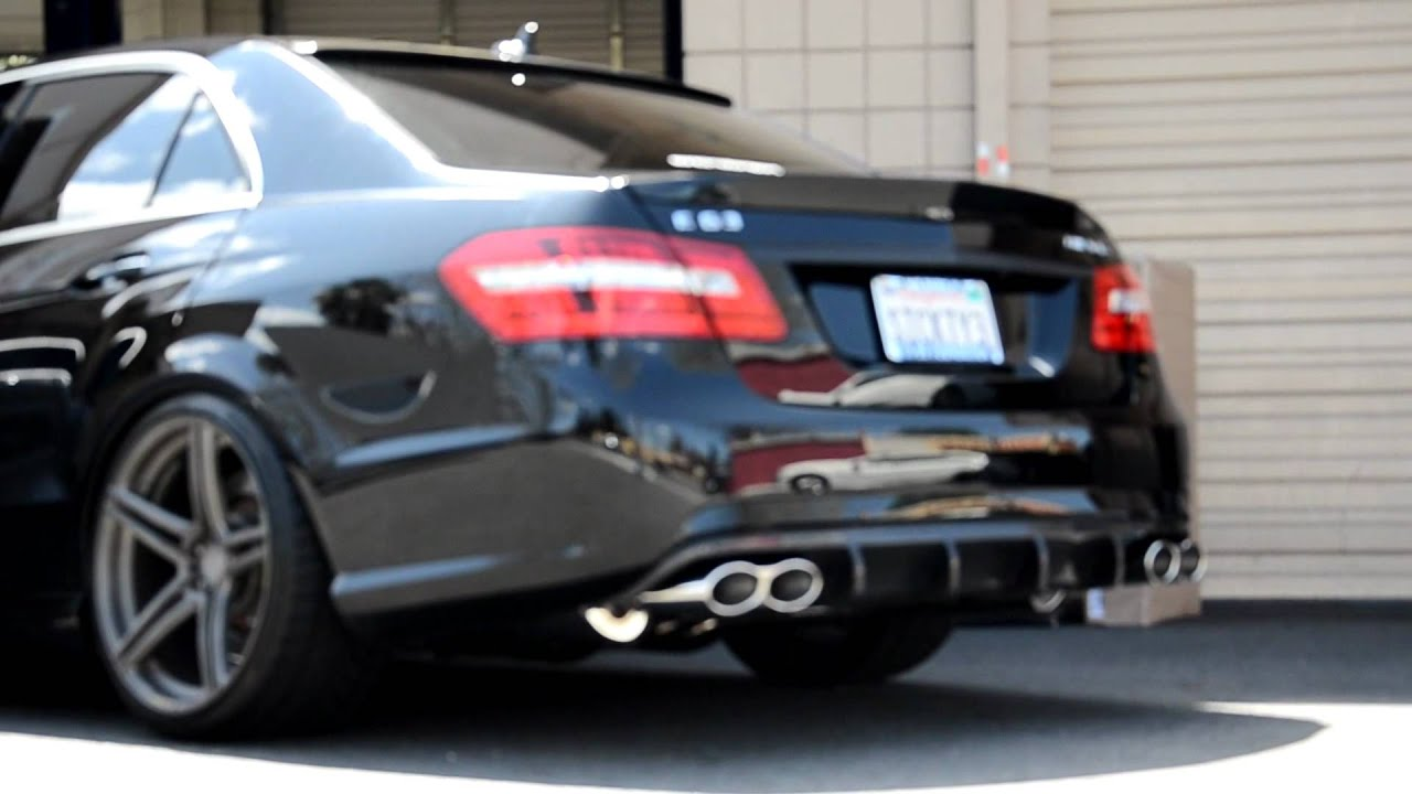 w212 e63 amg with meisterschaft gtc exhaust system youtube. Black Bedroom Furniture Sets. Home Design Ideas