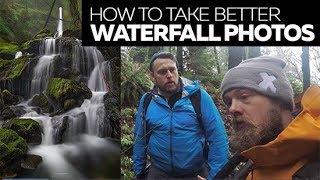 How to Take Better Waterfall Photos - Drainpipe Falls Adventure screenshot 3