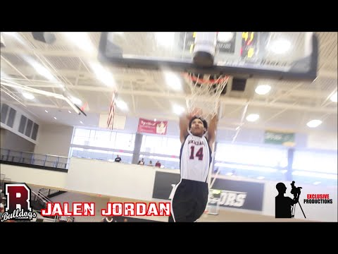 Rockdale HS Jalen Jordan puts on a show at the Pro-Conscious All-star game🏀 2016