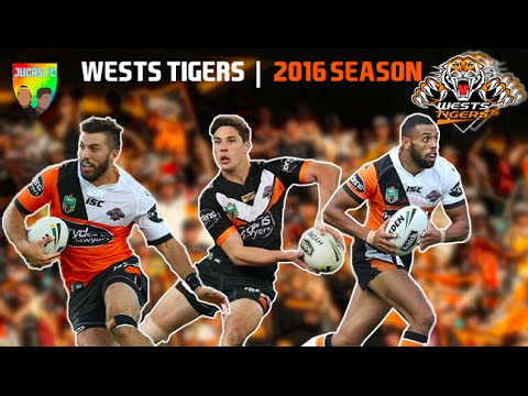 Wests Tigers | 2016 Best Tries | NRL