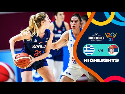 Greece - Serbia | Highlights - FIBA Women's EuroBasket 2021