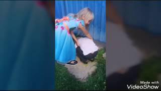 Детский клип на песню:  Бродяга