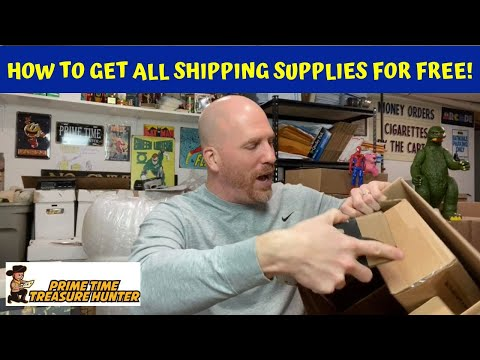 How to Get ALL of Your Shipping Supplies for FREE!